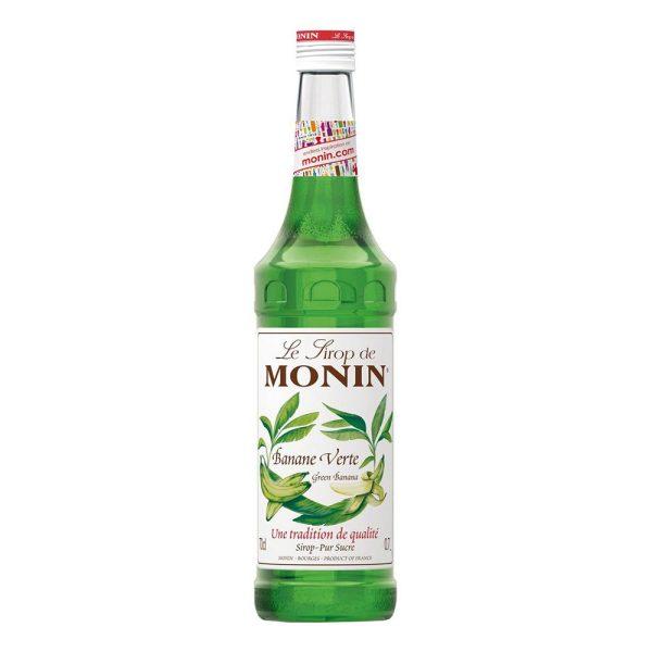 Monin Green Banana Syrup - 70 cl