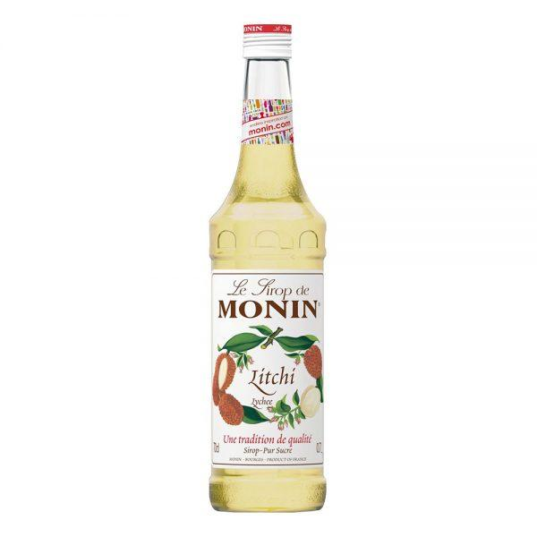 Monin Lychee Syrup - 70 cl