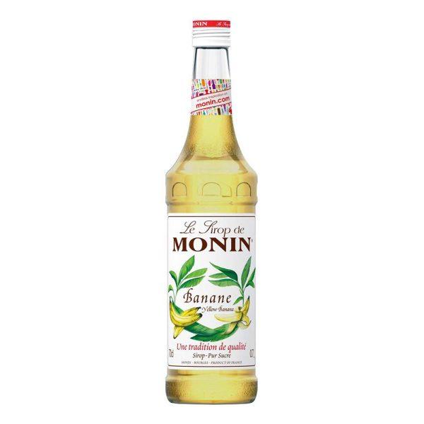 Monin Yellow Banana Syrup - 70 cl