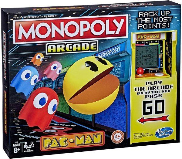 Monopoly Pac-Man Arcade (Eng) (Fyndvara - Klass 3)
