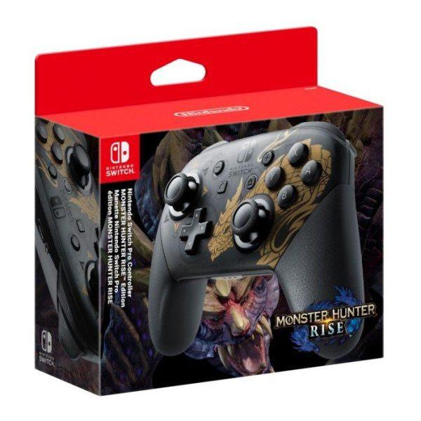 Nintendo Pro Handkontroll Monster Hunter Edition