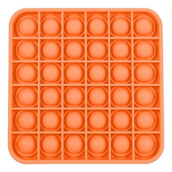 Pop-it Fidget Toy - Kvadratisk Orange