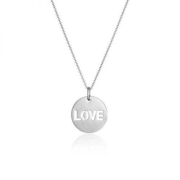 SOPHIE by SOPHIE Love Necklace Silver