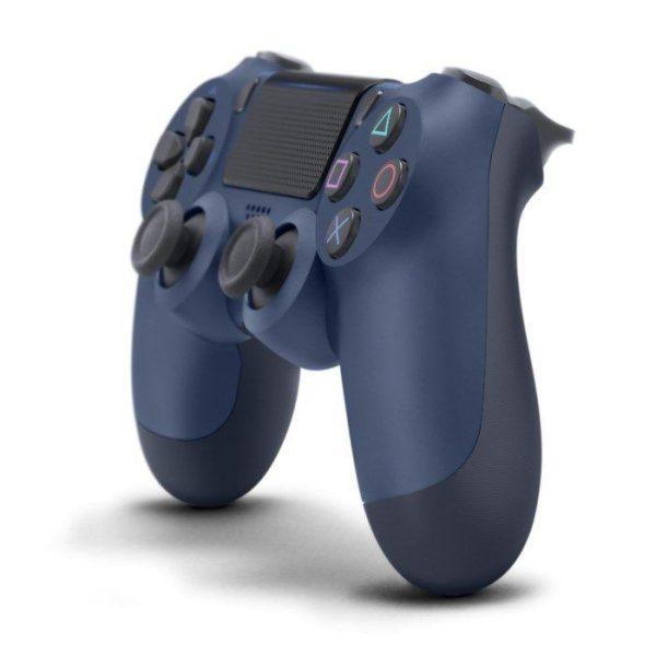 Sony Dual shock 4 v2 Trådlös handkontroll Midnight Blue