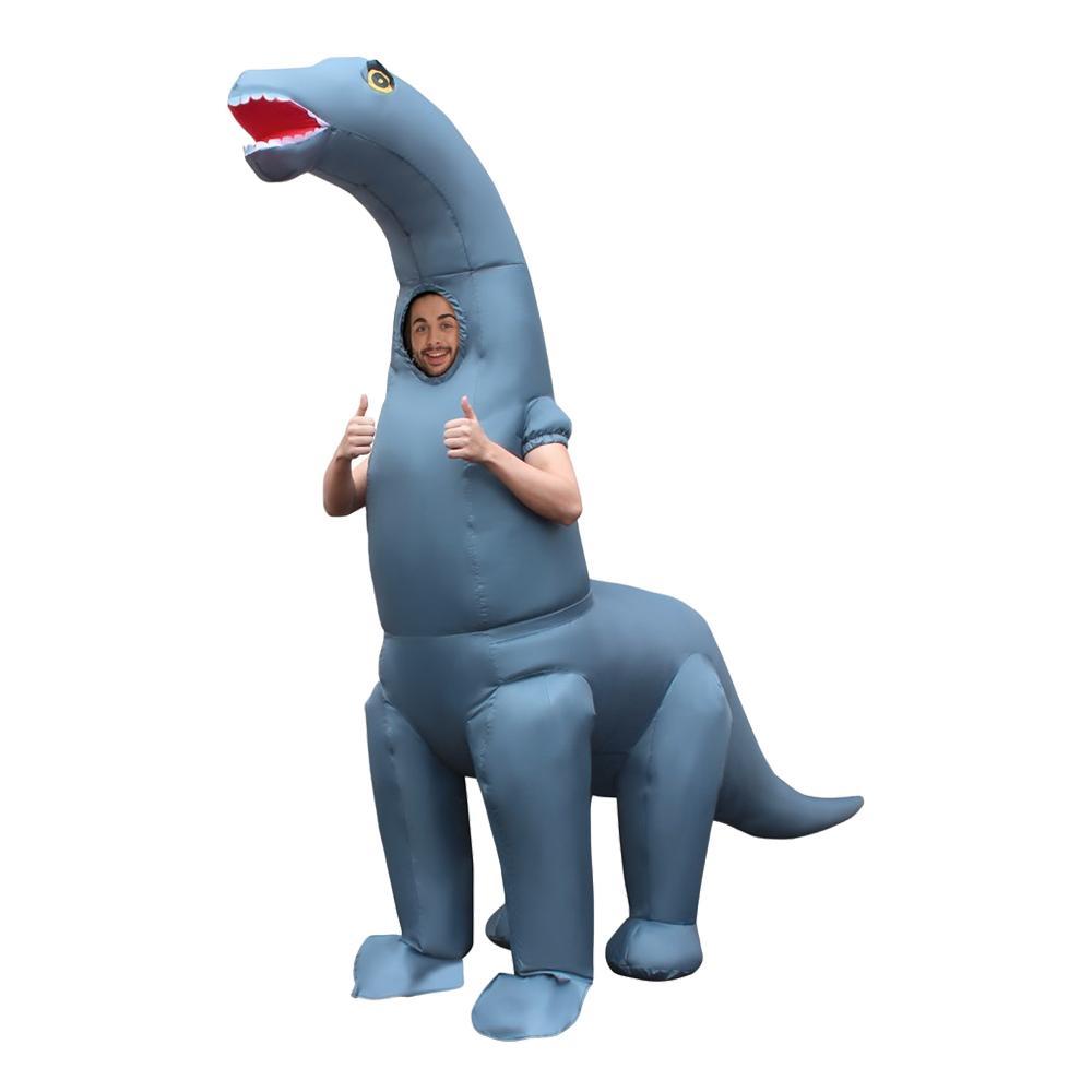 Uppblåsbar Diplodocus Maskeraddräkt - One size