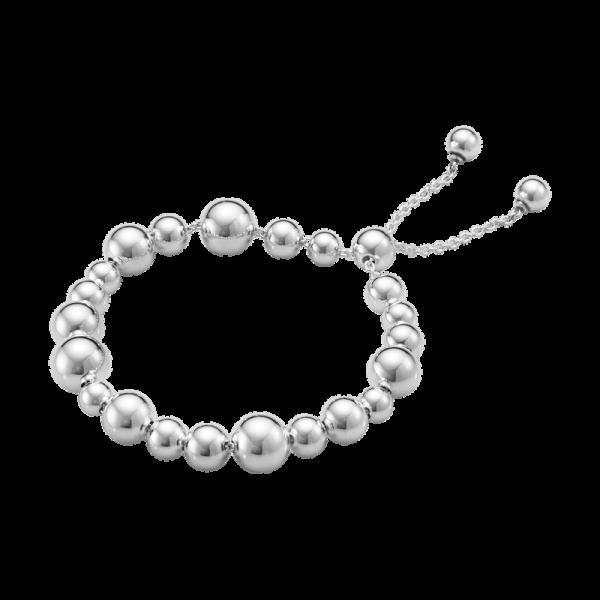 Georg Jensen Moonlight Grapes Mixed Armband Silver