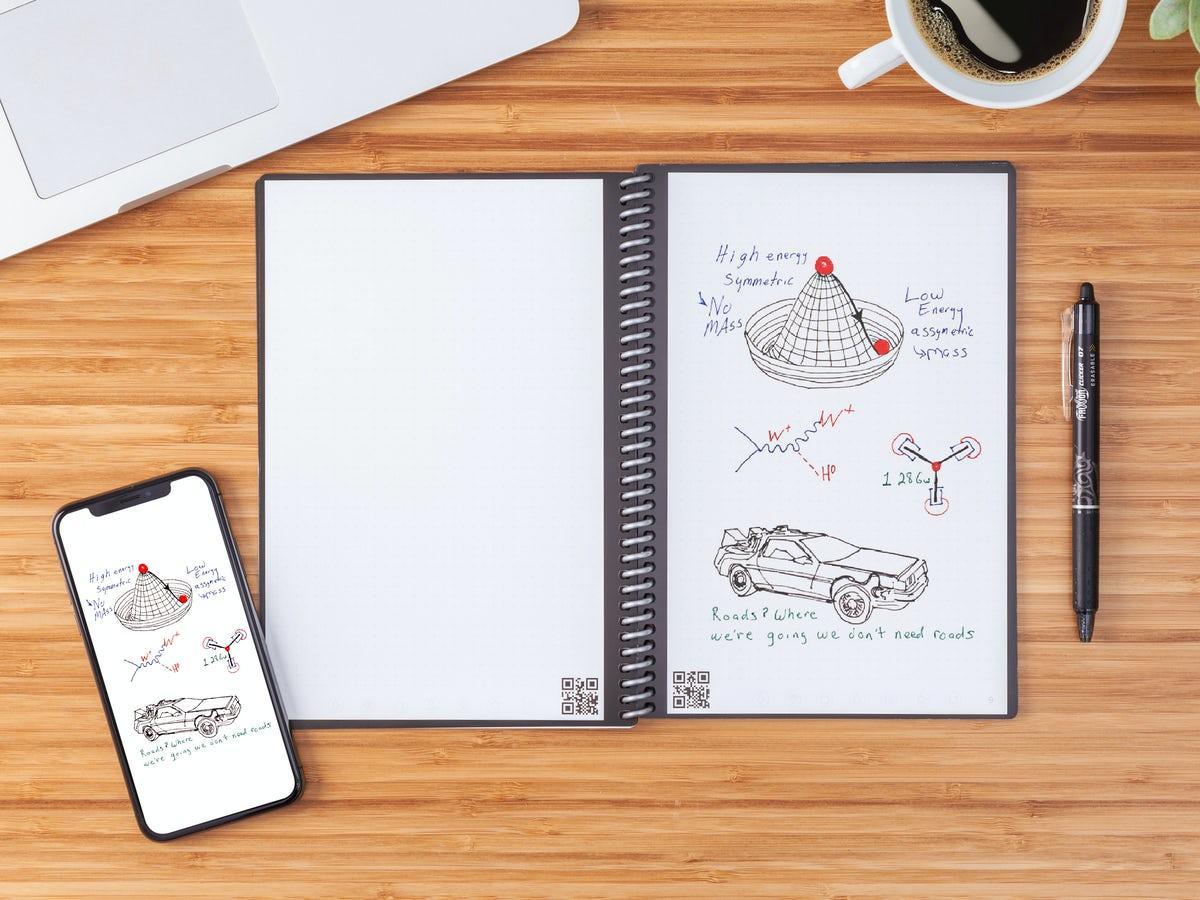 Rocketbook Everlast Smart Anteckningsbok Mini