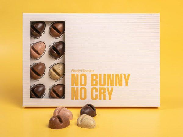 Simply Chocolate Chokladask - No Bunny No Cry