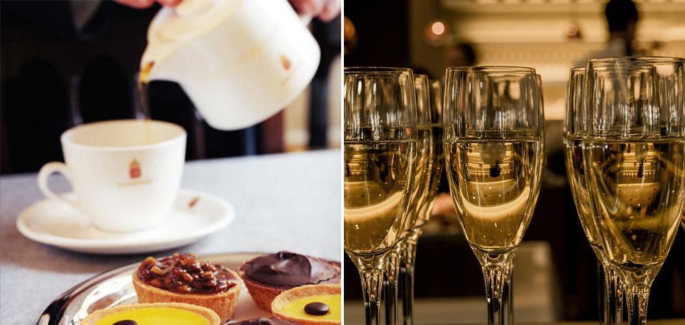 Afternoon Tea & Champagne för två på Chaikhana i Gamla Stan, Stockholm