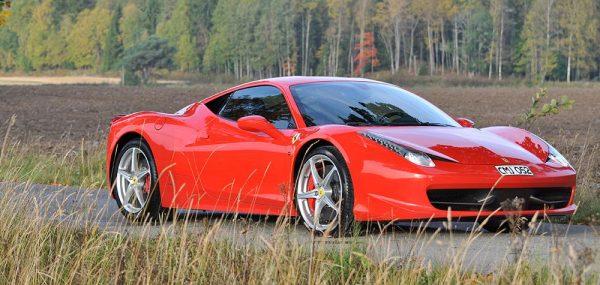 Kör Ferrari eller Lamborghini i Malmö (15 km)