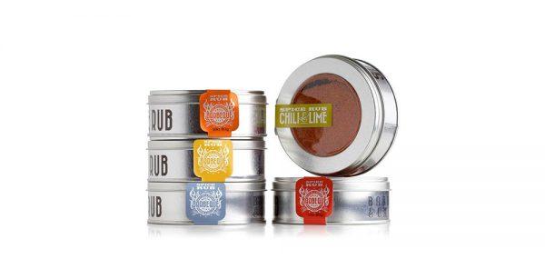 Spice Rub Box-paket