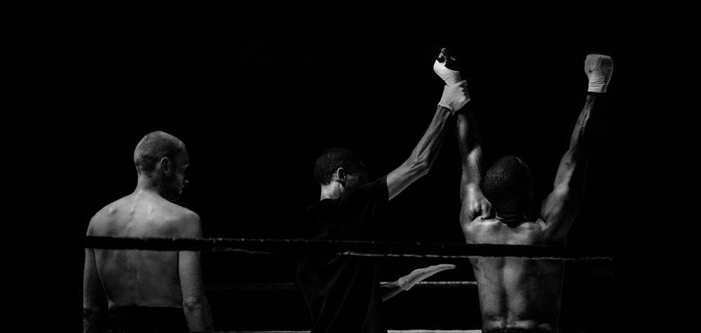 Fight med professionell MMA-utövare i Stockholm