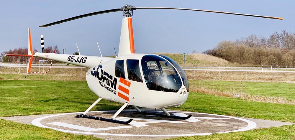 Helikoptertur över Malmö - Upplev staden från ovan