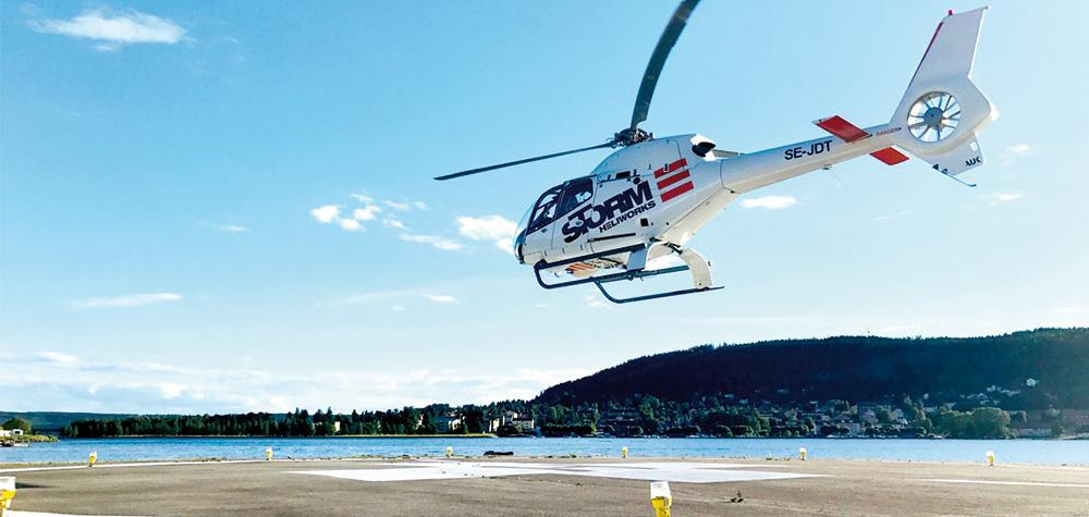Privat helikoptertur över Göteborg - Hyr en egen helikopter (4 pers)