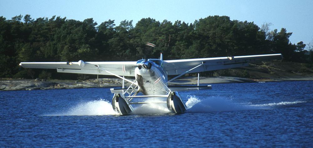 Provflyg ett Sjöflygplan