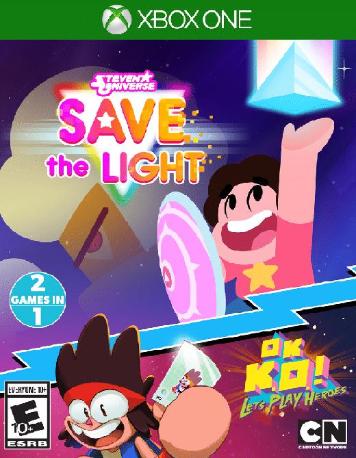 Steven Universe Save The Light & OK K.O.!