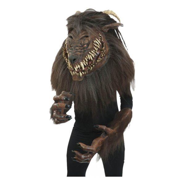 Varulv Monster Supreme Maskeraddräkt - One size