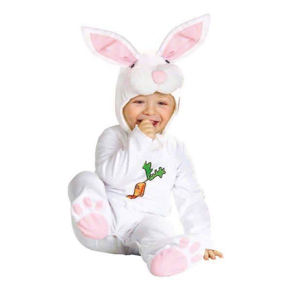 Vit Kanin Bebis Maskeraddräkt - One size