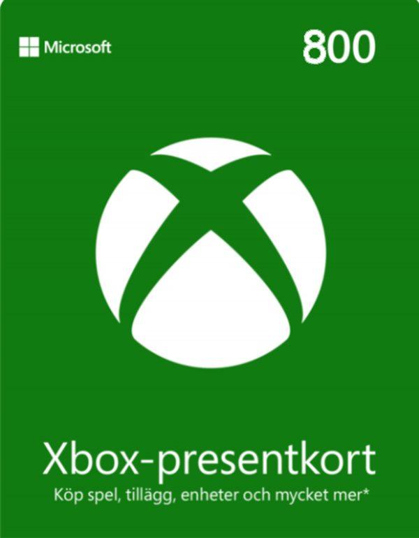 Xbox Live 800
