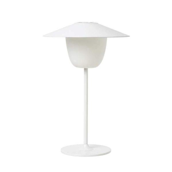 ANI LAMP Mobil LED-lampa - Bordslampa / Taklampa - Vit