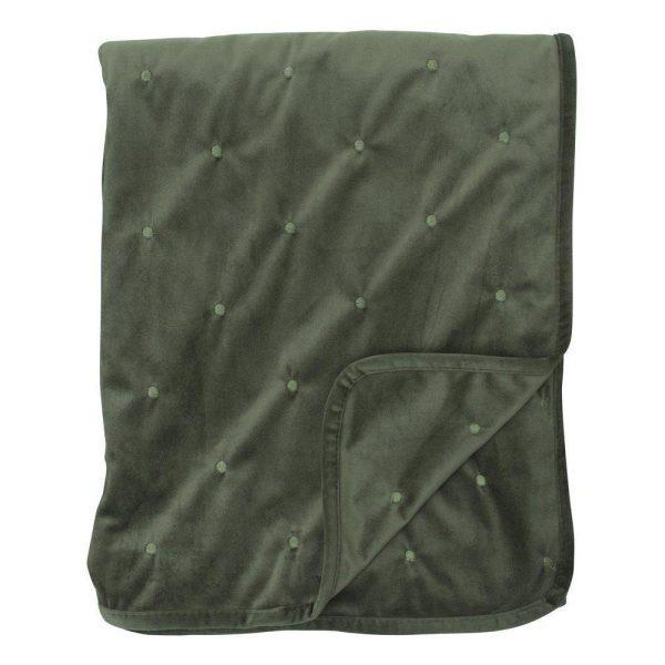 Dothy Pläd 130x170 cm - Grön