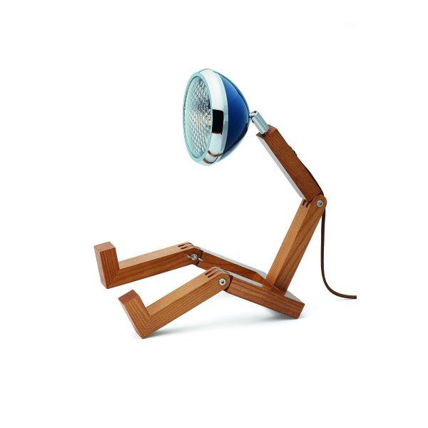 MR WATTSON Lampa / Bordslampa - Cobra Blue