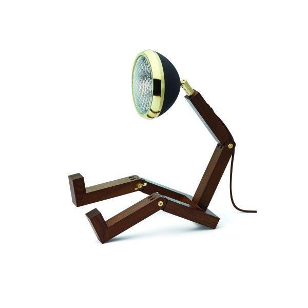 MR WATTSON Lampa / Bordslampa - Mässing / Matt Svart