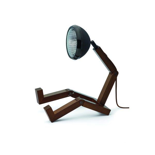 MR WATTSON Lampa / Bordslampa - Matt Svart