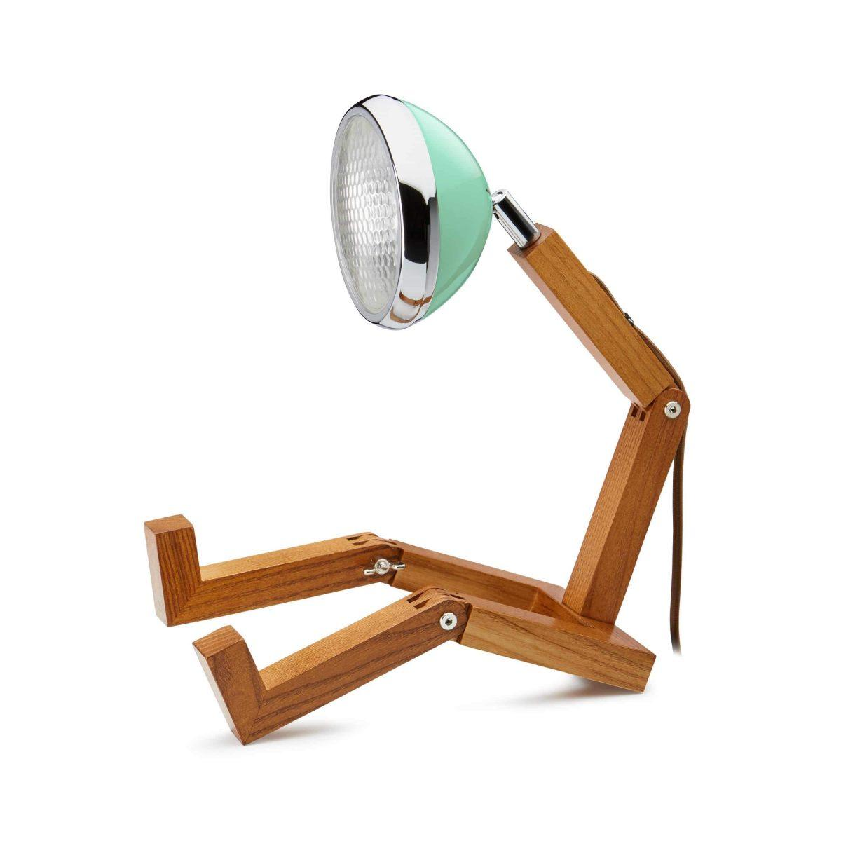 MR WATTSON Lampa / Bordslampa - Tiffany Green
