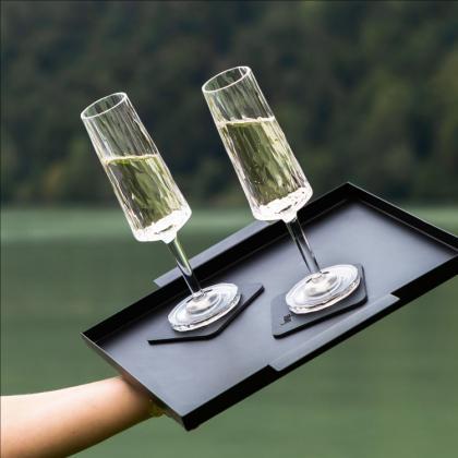 Magnetiska Champagneglas i plast Silwy, 2-pack