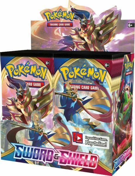 Pokemon Sword & Shield 1 Booster Display (36-pack)