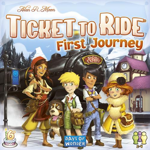 Ticket to Ride: First Journey (Nordic)