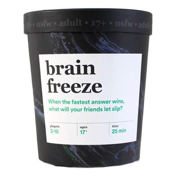 Brain Freeze NSFW Spel - Engelska