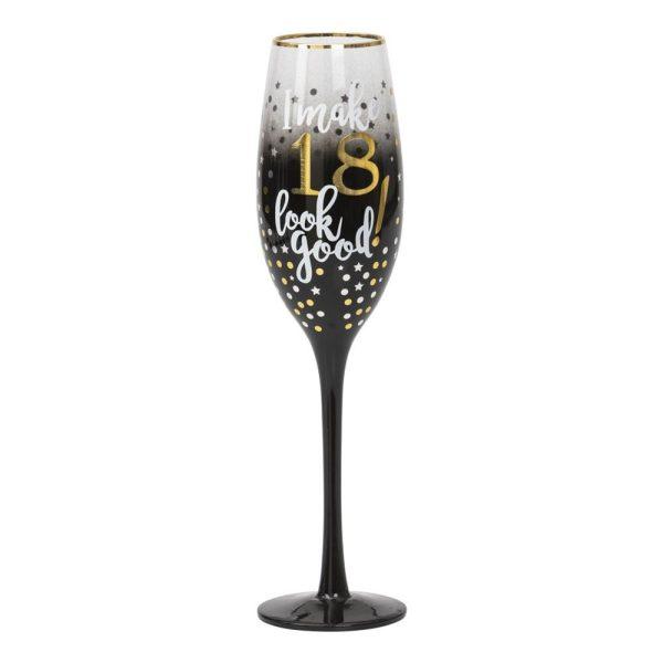 Champagneglas 18 Stars