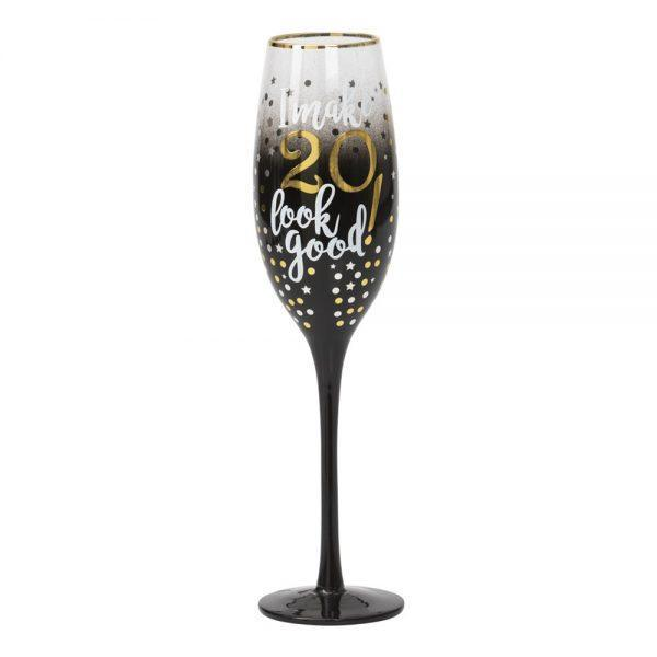 Champagneglas 20 Stars