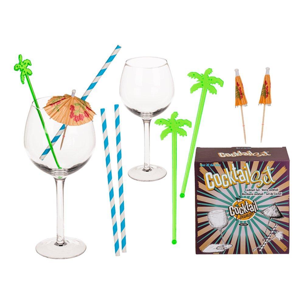Cocktailset Glas