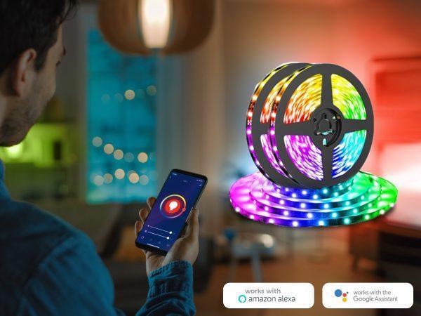 Denver Wi-Fi LED Ljusslinga
