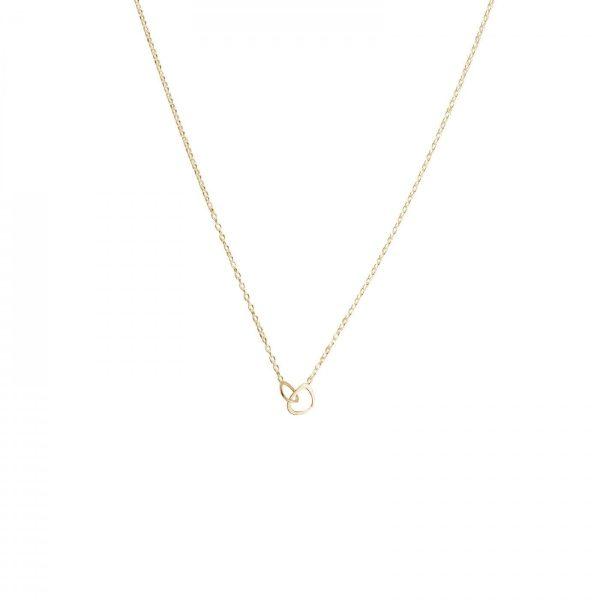 Drakenberg Sjölin Together Drop Necklace Gold