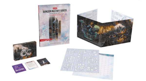 Dungeons & Dragons RPG Dungeon Master's Screen Dungeon Kit