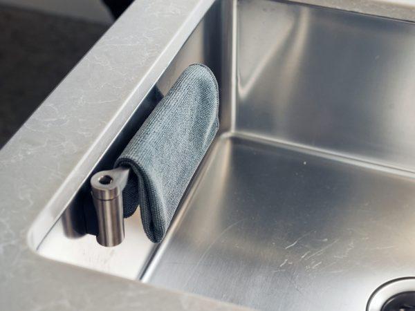 Happy Sinks Disktrashållare Rostfritt Stål