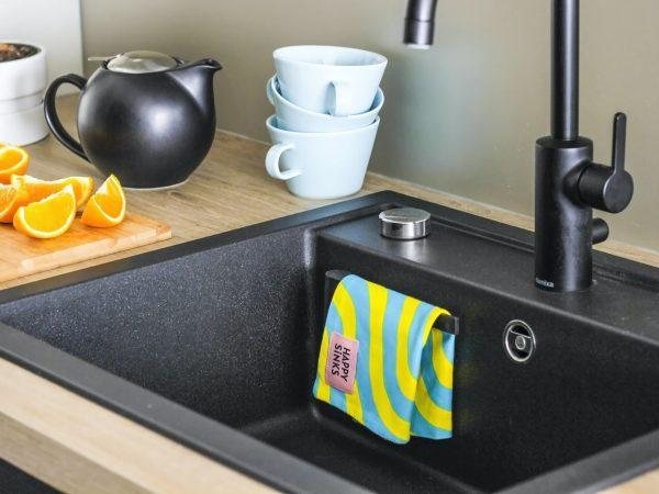 Happy Sinks Magnetisk Disktrasehållare Svart