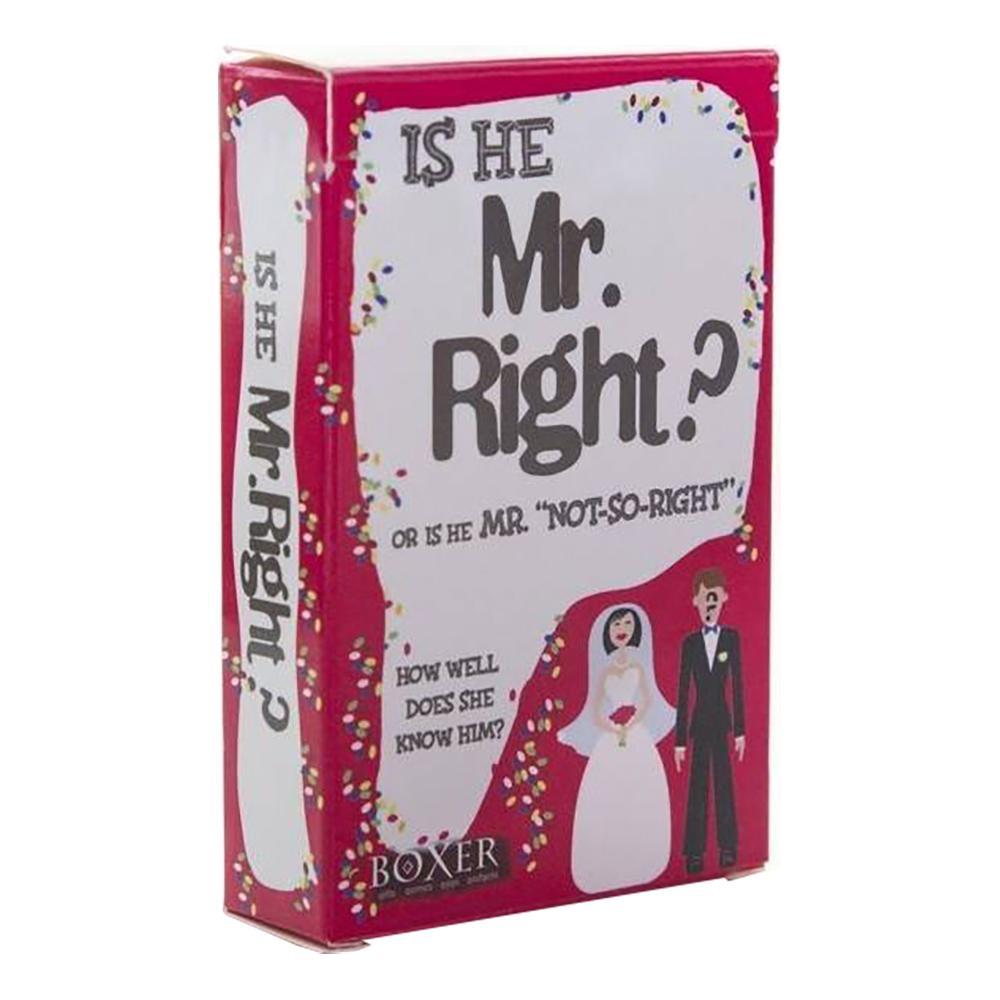 Is He Mr Right? Frågespel