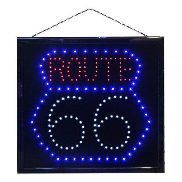 LED-Tavla Route 66