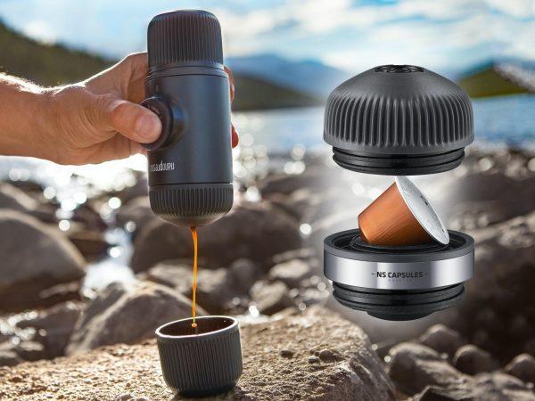 Nanopresso NS Portabelt Espresso-set