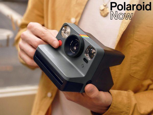 Polaroid Now Direktfilmskamera - Svart