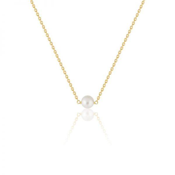 SOPHIE by SOPHIE Pearl Necklace - Gold