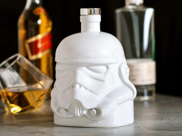 Star Wars Stormtrooper Karaff - Vit