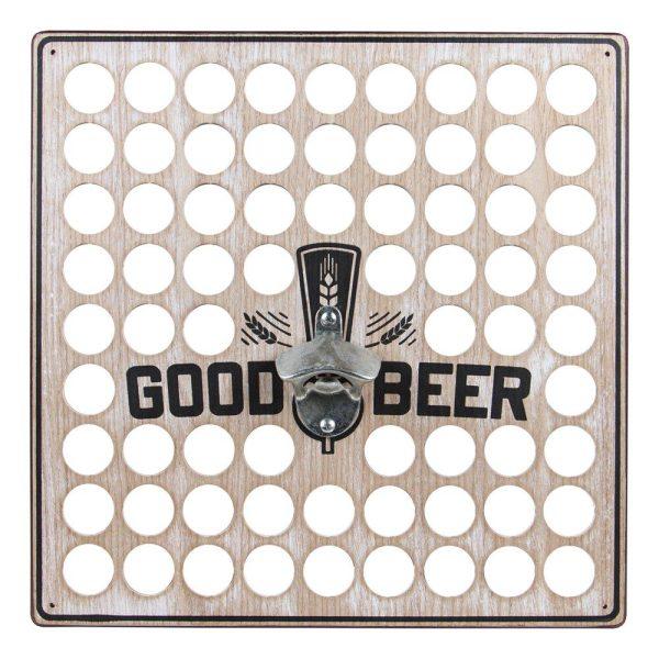 Vägghängd Flasköppnare Good Beer