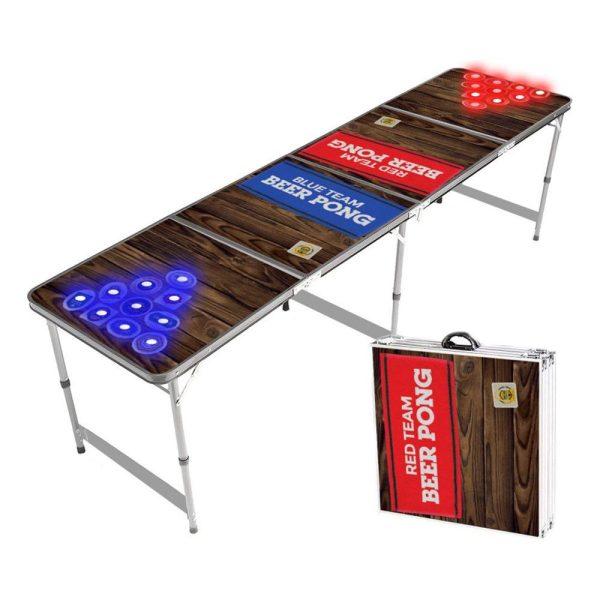 Beer Pong Bord LED-Hål