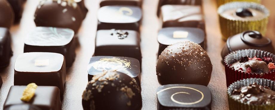Chokladprovning för två